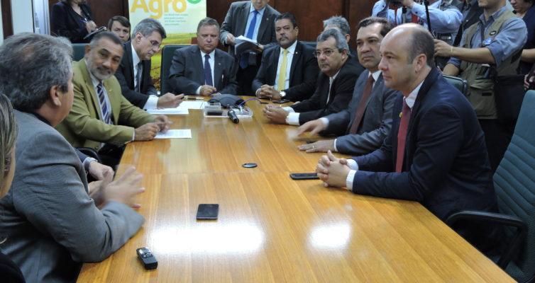 Reunião com ministro da Agricultura